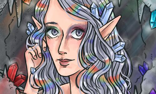 painted portrait avatar