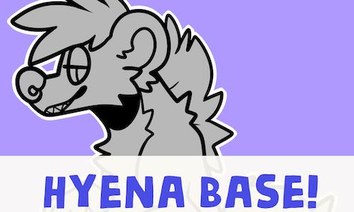 Anthro Hyena Base (2017)