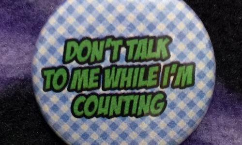 Don't Talk to Me - Magnetic Needleminder