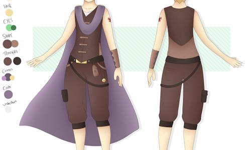 Character Design Sheet / Turnaround