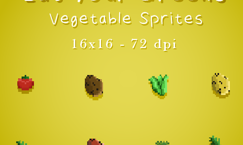 Eat Your Greens (Vegetable Sprites)