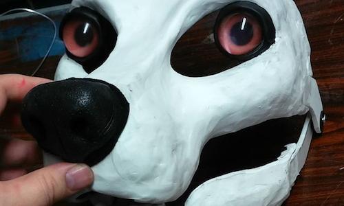 Resin fursuit base - canine