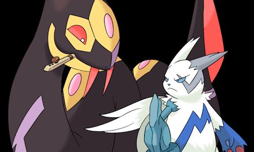Ken Sugimori Styled Pokemon