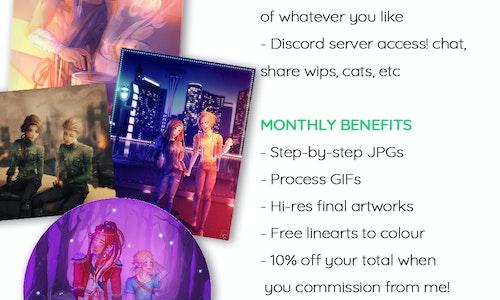 NOV 2018 Patreon Rewards
