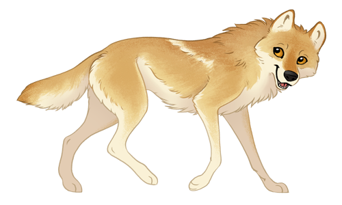 Simple Stylized Animal Reference Image
