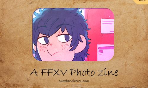 FFXV Photo Zine